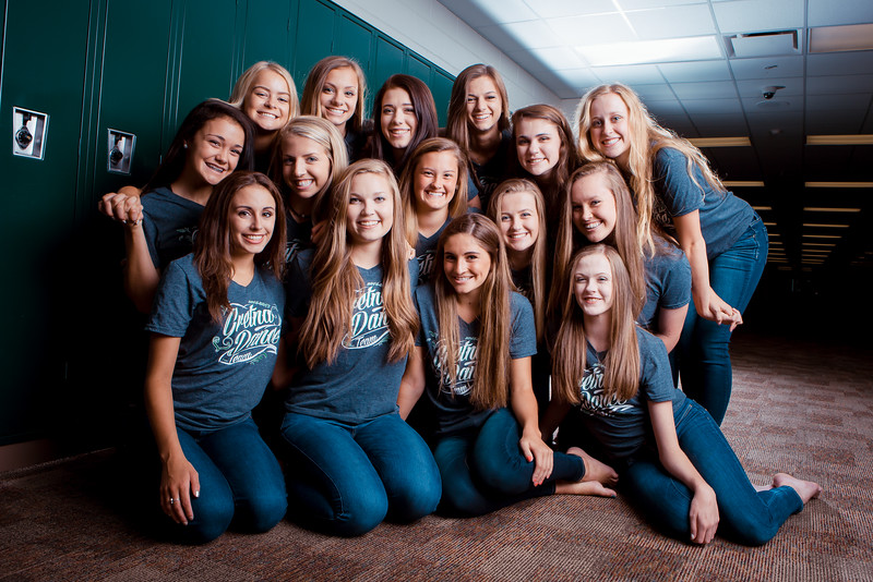 Gretna High School Dance Team 2016 Photo Session