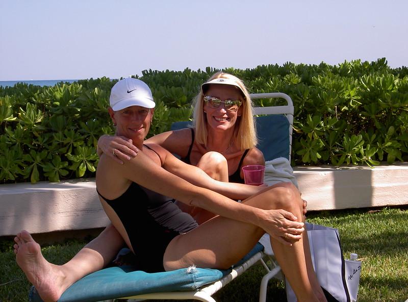 Karen Bean and Janet Armstrong-Burke, Ft. Lauderdale, FL 2004.