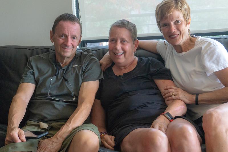Raymond Bean, Karen Bean and Nancy Bean in Portland, OR  June 2018