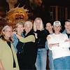 Mary Zabell, Rena Gunn, Beth Fredericks, Janet Armstron-Burke, Judy Estroff, Sue Milling, Karen Bean.  CrossVillage, MI 2003.