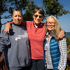 Karen Bean, Sue Milling and Mary Zabell, Cape Cod, MA 2015.