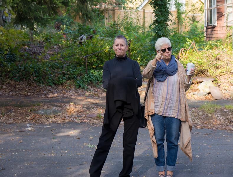 Karen Bean and Beth Fredericks, Boston MA, 2015