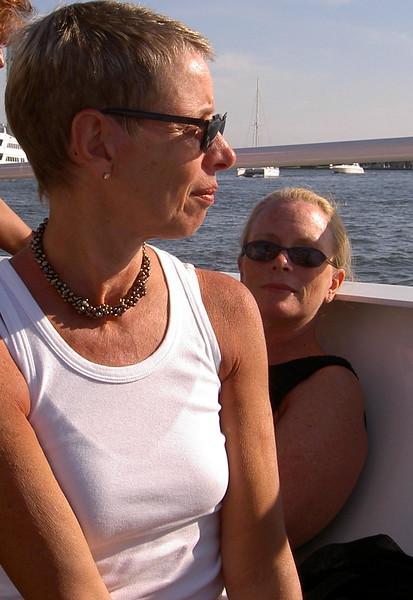 Karen Bean and Mary Zabell.  Ft. Lauderdale, FL 2004.