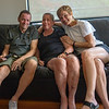 Raymond Bean, Karen Bean and Nancy Bean.  Portland, OR. 2018.