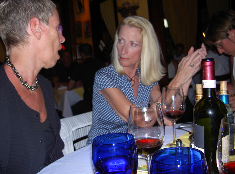 Karen Bean and Janet Burke. Ft. Lauderdale, 2004.
