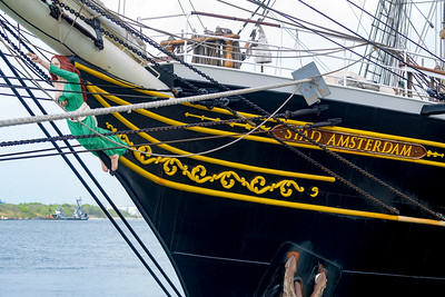 Bowsprit figurehead