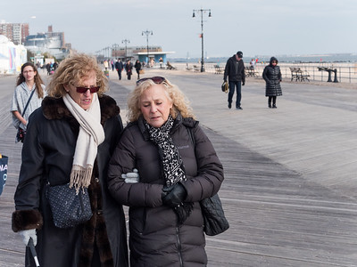 Heelene and Stacey and the Boardwalk.