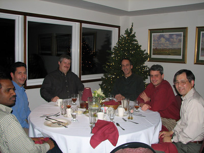 Bala Garlapati, Gerry Patrizio, Dave Joswick, Glenn Martelucci, Scott Rogers, and Ben Wang havin' a great time.