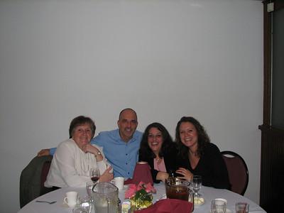 Sue Jesseman, Mike English, Maryann Markarian, and Naida Chipego having a great time.