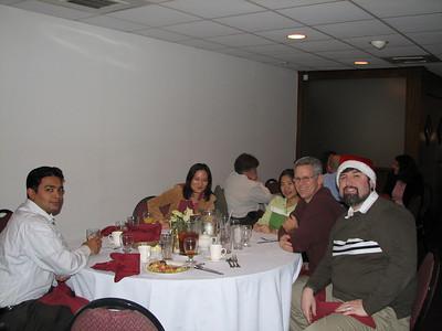 Abhishek Kumar, Charlene Wang, Lee Torrence, and me!