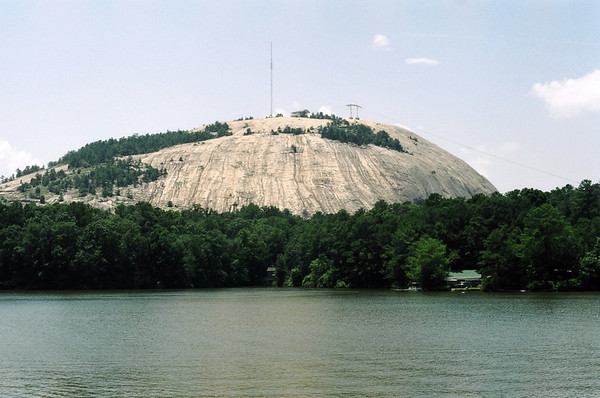 Stone Mountain, View from Water