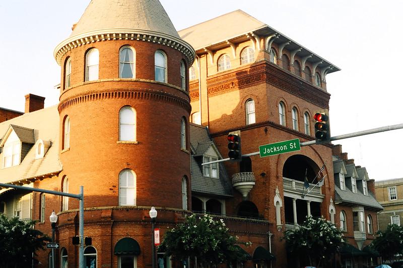 "Famous old ""Windsor Hotel"", Americus, Georgia"