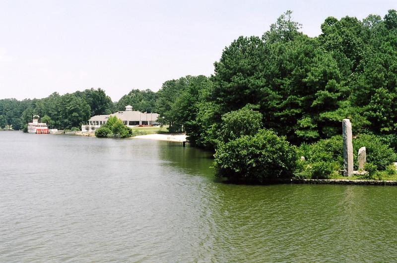 Lake at Stone Mountain