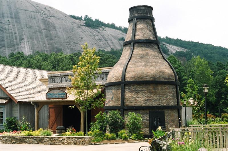 Huge Old Kiln at Stone Mt. Village