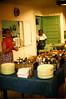 plentiful dining room buffet table, Koinonia Farms