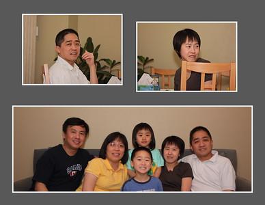 Gia Hung's family