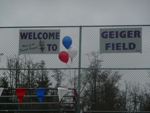 Gieger Field Dedication 3/7/08