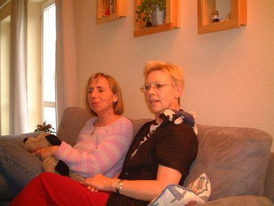 Birgit and Karin