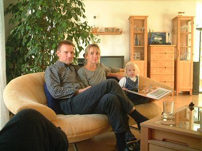 Bernd and Johanna with Samira
