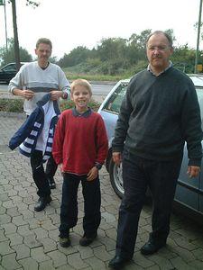 Jurgen, Johannes and Mark