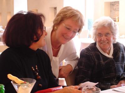 Regi, Kathy and Edna