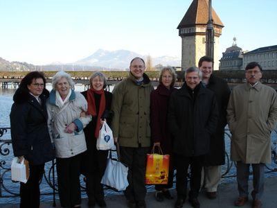 Regi, Edna, Tonie, Mark, Kathie, Erich, Edward and Pietro