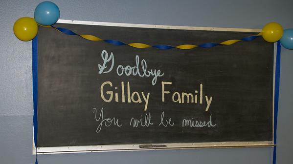 Gillay Goodbyes--July 2014