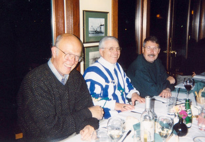 Dick, Charlie and Hans Dieter