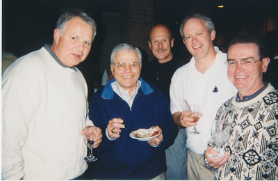 Frank, Charlie, Paul Andy and Jim