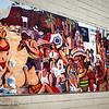 Street mural in Laguna Beach