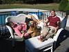 Sarah, Roxanne & Jack enjoying the sun :-)