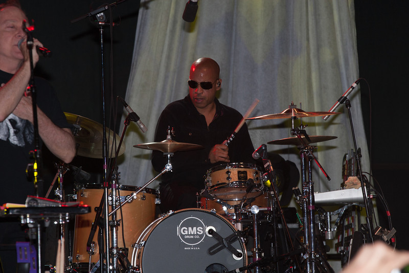 Sterling Campbell drums for The B-52s