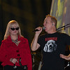The B-52s Cindy Wilson and Fred Schneider