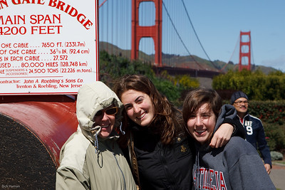 Golden Gate with Margherita