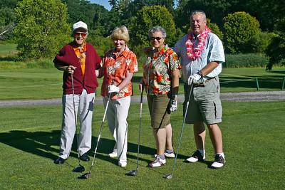 The Hawaiian team - Uncle Paul, Sue, Carolyn, Dick