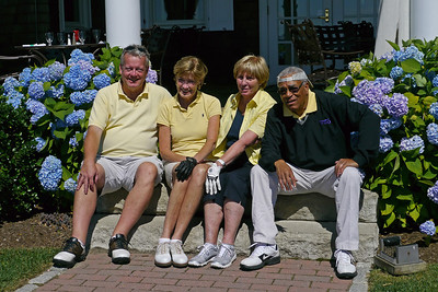 The Yellow Team -- Dick, Karen, Sue, Eddie