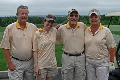 Yellow Striped Team - 3rd place Dick, Christine, Harold, Jill