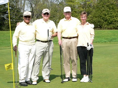 Yellow Team - Uncle Paul, Jack, John, Liz - Tied for 1st place