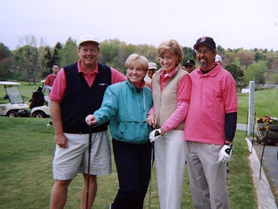 Pink Team -Dick, Sue, Karen, Alan - 3rd place