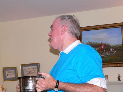 Jack partakes of the Ceremonial Chalice and then...