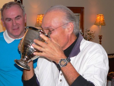 Harold partakes of the Ceremonial Chalice and then...