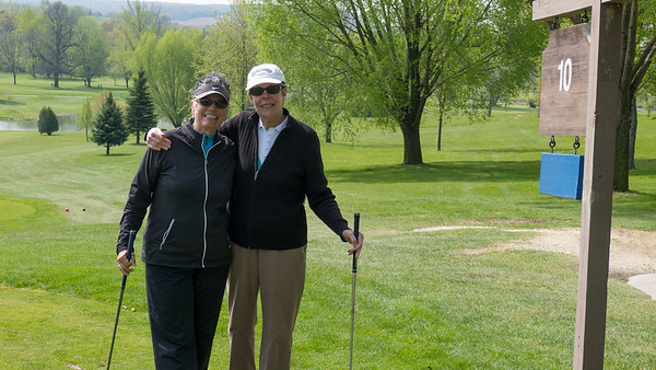 Golf with Helen in Mayville–Early May 2012