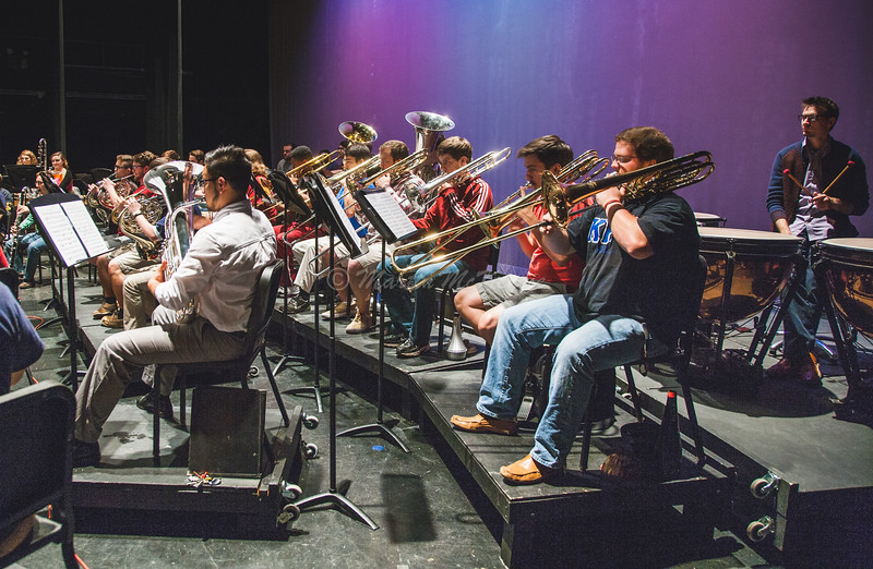 """Symphonic Band Rehearsal"""