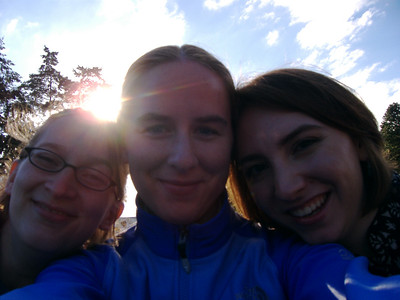 Sophia, me, and Kari