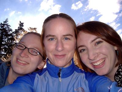 Sophia, me and Kari