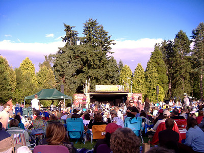 Stage at the Woodland Park Zoo