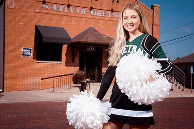 Gretna Cheerleading Team Photos 2019