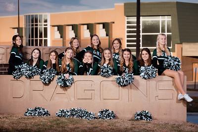 110520 Gretna High School JV Cheerleading Team