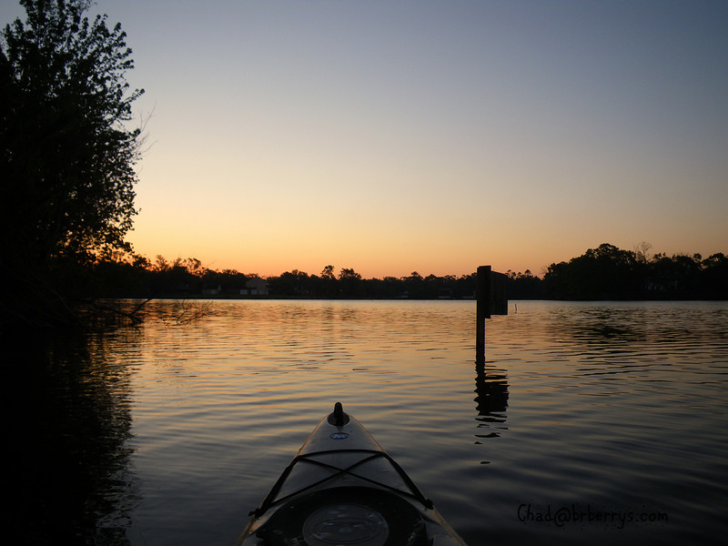 An early morning view of the LSU lakes.