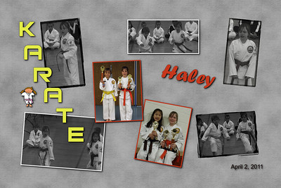 Haley Karate 4-2-11